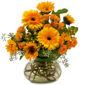 Sunflower Delight Arrangement in Vinton, VA | CREATIVE OCCASIONS EVENTS, FLOWERS & GIFTS