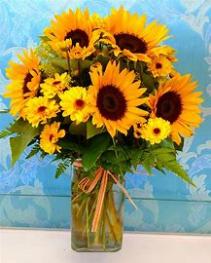 Sunflower Delight Sunflower Arrangement