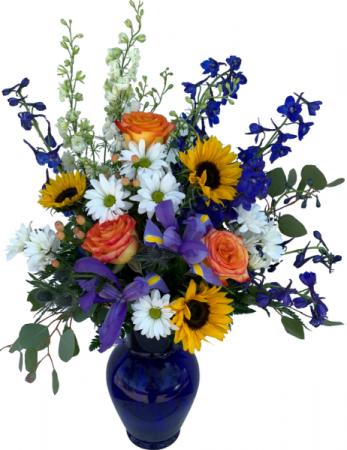 Sunflower Delight Vase Arrangement