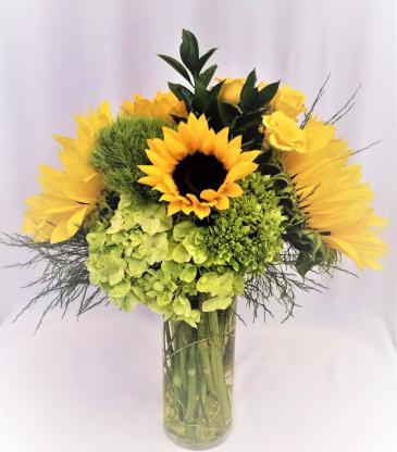 Sunflower Explosion Arrangement