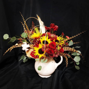 Sunflower fall explosion Fresh Fall in Mountain Home, AR | BOUQUET PALACE
