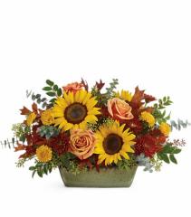 Sunflower Farm Arrangement Floral Arrangement