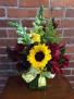 """Sunflower """"Field"""" Day Fall Arrangement"""