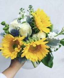 Sunflower Fields Flower Arrangement