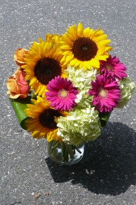 Sunflower Garden Garden Bouquet Design