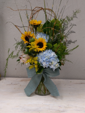 Country Road Vase