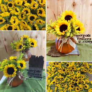 Sunflower Goodness ***Margot's Own Special-Local delivery radius  in Prospect, CT | MARGOT'S FLOWERS & GIFTS
