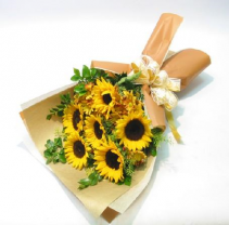 Sunflower Hand tied bouquet