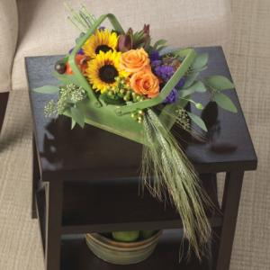 Sunflower Hand-tied Bouquet  in Teaneck, NJ | TIGER LILY