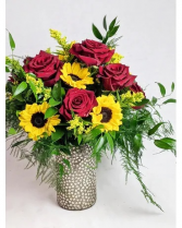 Sunflower Hearts Custom