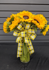 Sunflower Kind of Day Vase Arrangement