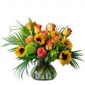 Sunflower Kisses Arrangement
