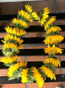 Sunflower Lei Graduation