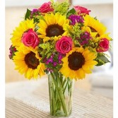 Sunflower Love Bunch Floral Arrangement