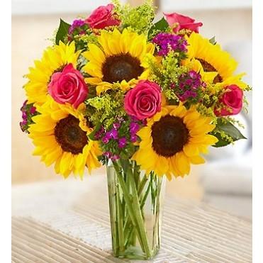 Sunflower Love Bunch Floral Arrangement