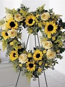 Sunflower Open Heart Sympathy