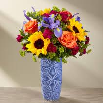 Sunflower Power Look Sunflower arrangement
