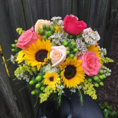 Sunflower Serenade  Bouquet