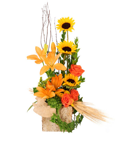 Sunflower Sunrise Flower Arrangement