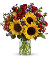 SUNFLOWER SURPRISE BOUQUET