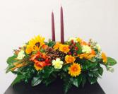 Sunflower Surprise Oblong Centerpiece