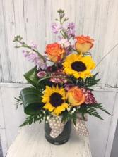 Sunflower Surprise Floral Arrangement
