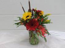 Sunflower Surprise Vase Arrangement