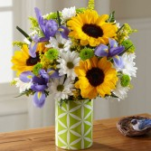 Sunflower Sweetness Bouquet Spring Flowers