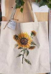 Sunflower Tote Bag Gift Item