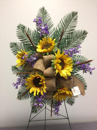 Sunflower Tribute Memorial Day Flowers