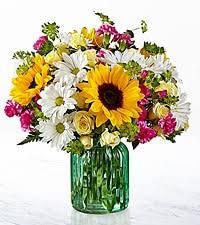 Sunflower Vintage Sunflower arrangement in San Juan, PR   ELIKONIA FLOWERS
