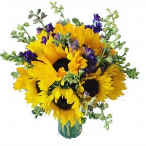 Sunflower Wedding Bouquet Wedding in Spanish Fork, UT - 3C Floral