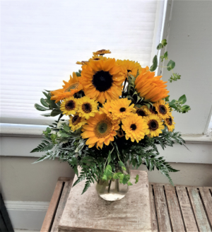 Sunflower Wow!  in Nassawadox, VA | Florist By The Sea
