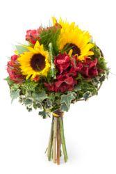 SunFlower/Alstromeria Bouquet