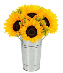 Sunflowers for Dad