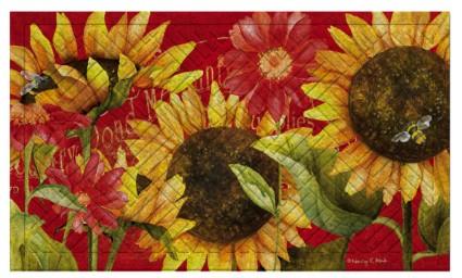 Sunflowers Indoor/Outdoor Mat
