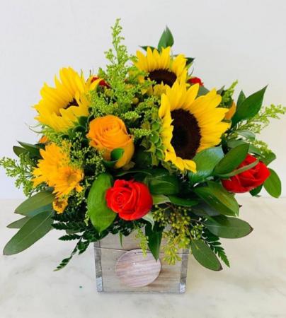 Sunflowers light Arrangement