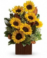 Sunflowers & Magnolia Box