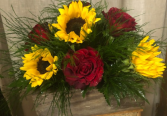 Sunflowers N' Roses Fresh