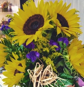 Sunflowers purple statice special back to school september special sunflowers purple statice special back to school september special mightylinksfo