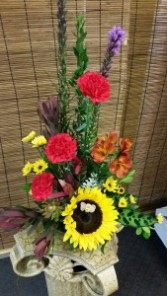 Sunflower's Visitor