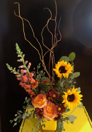 Sun Harvest Floral Arrangment