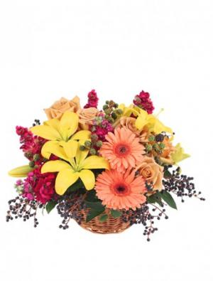 Sun-Kissed Country Floral Arrangement in Newport News, VA | Pick Me Up Love LLC.