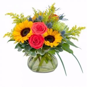 Sunlit Beauty Arrangement