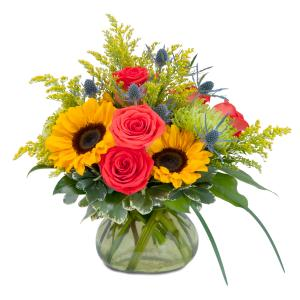 Sunlit Bounty Arrangement in Fort Smith, AR   EXPRESSIONS FLOWERS, LLC