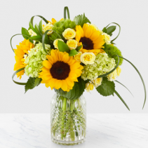 Sunlit Days Designer Vase Arrangement
