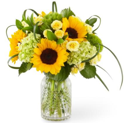 Sunlit Days Sunflower Bouquet