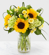 Sunlit Days Vase