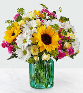 Sunlit Meadow Fresh / green vase