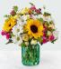 Friendship Blooms Basket of Flowers